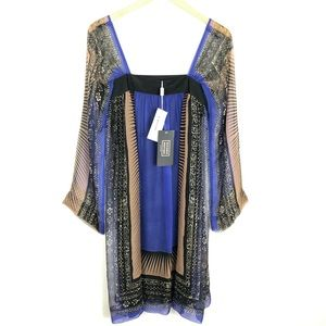 Philosophy Di Alberta Ferretti Silk Flutter Dress